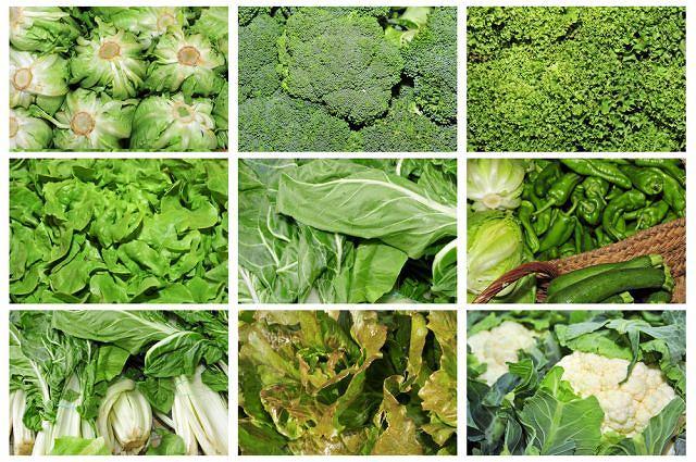 Seksualne superprodukty: zielone warzywa