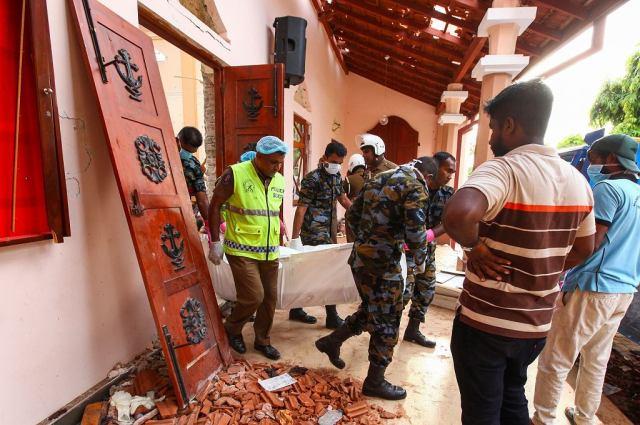 Seria zamachów na Sri Lance