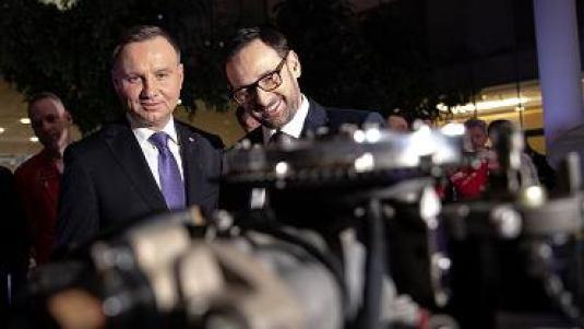 Andrzej Duda i Daniel Obajtek