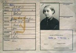 Kennkarte Emmy Tobias. w 1940 r. miała 11 lat