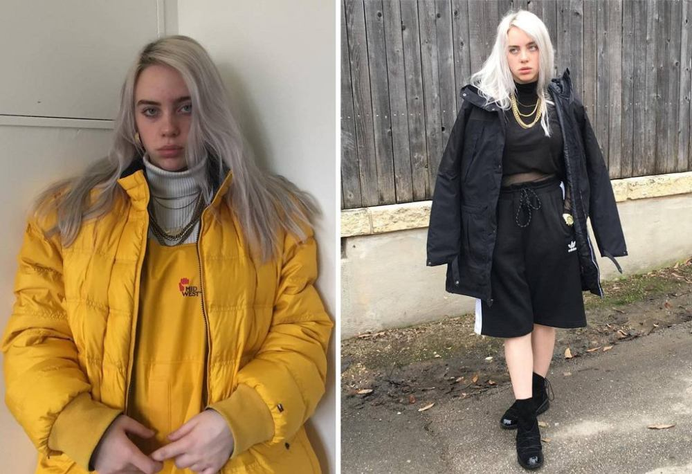 Billie Eilish at the beginning of his career