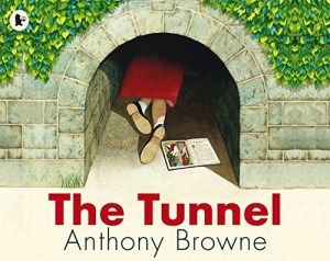 Anthony Browne is at his most brilliant in a new edition of this profound picture book about sibling relations. Once upon a time there lived a brother and sister who were complete opposites and constantly fought and argued. One day they discovered the tunnel. The boy goes through it at once, dismissing his sister's fears. When he doesn't return his sister has to pluck up the courage to go through the tunnel too. She finds her brother in a mysterious forest where he has been turned to stone...