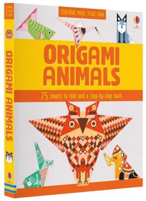 Learn how to fold eight amazing animals with this origami pack. Includes 75 sheets of colourful patterned paper and a book with step-by-step instructions for making an owl, dragon, fish, elephant, fox, rabbit, whale and crane. With internet links to video tutorials, tips and printable sheets.