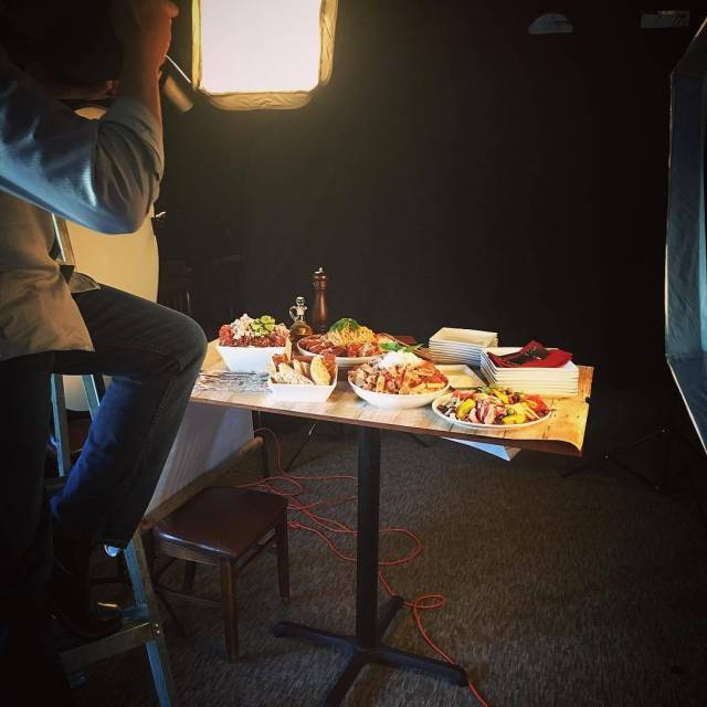 Catering photoshoot in the works with redcornstudios Be sure tohellip