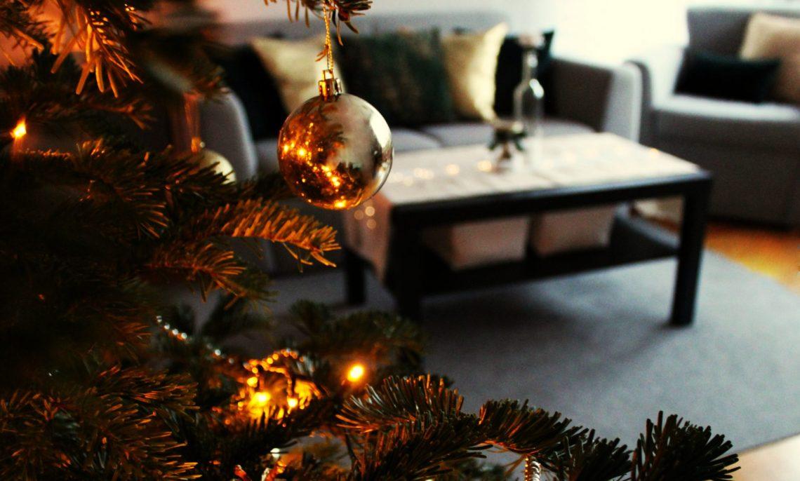 home decor świąteczny złoto zieleń