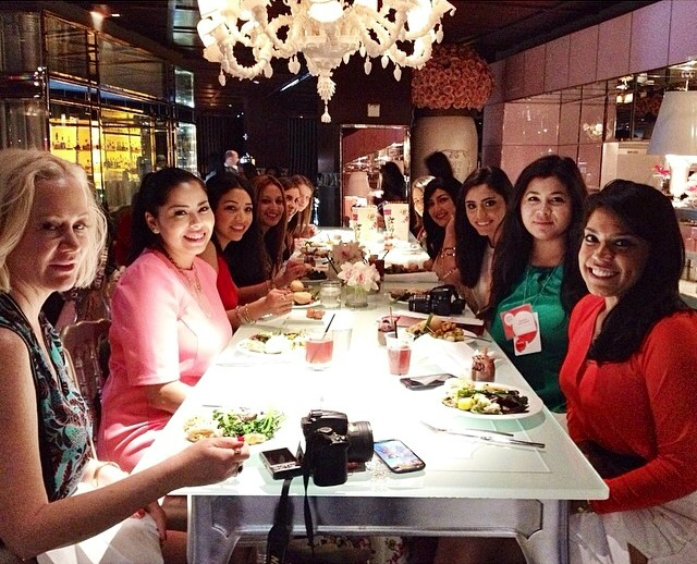 How to Mingle with Fashion Bloggers - A LuckyFabb Brunch