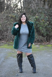 Over the knee wide calf width avenue plus boots