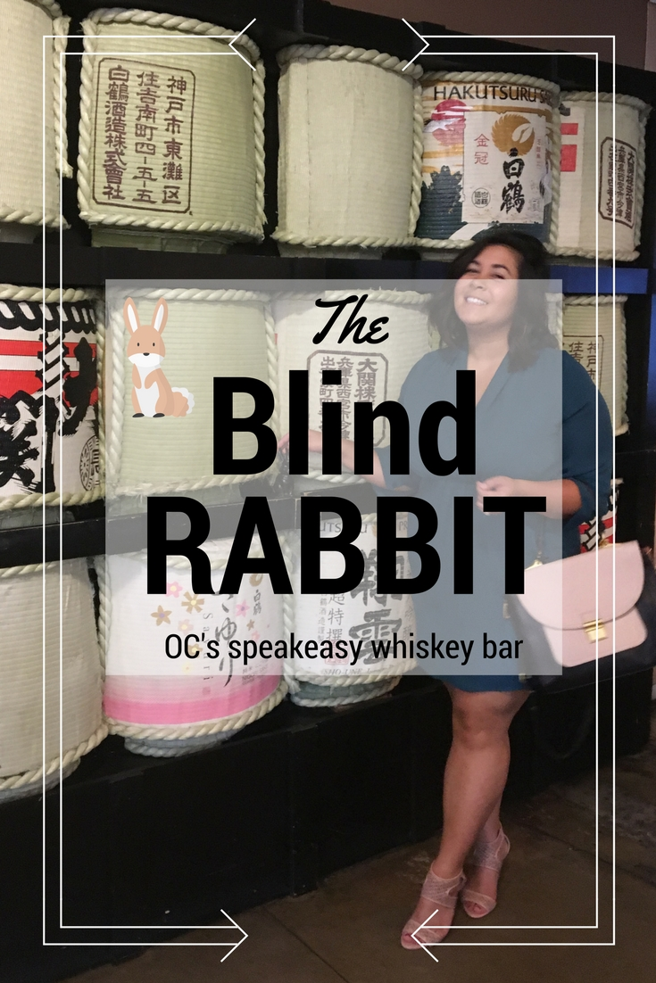 OC's worst kept secret: The Blind Rabbit speakeasy whiskey bar