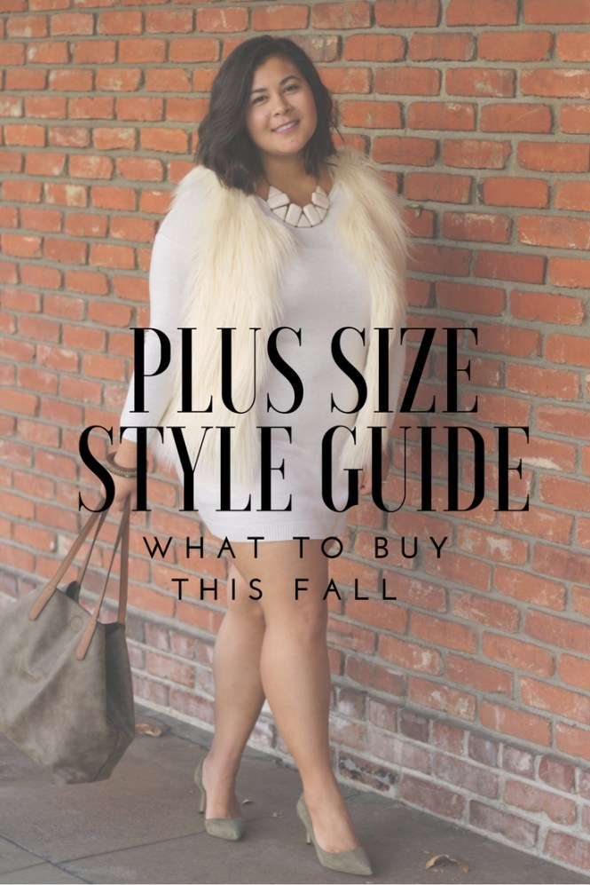 Fall 2017 Plus Size Style Guide