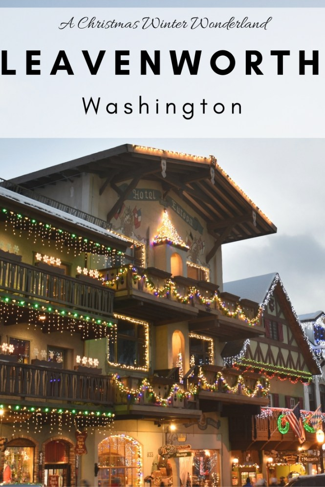 Christmas leavenworth washington
