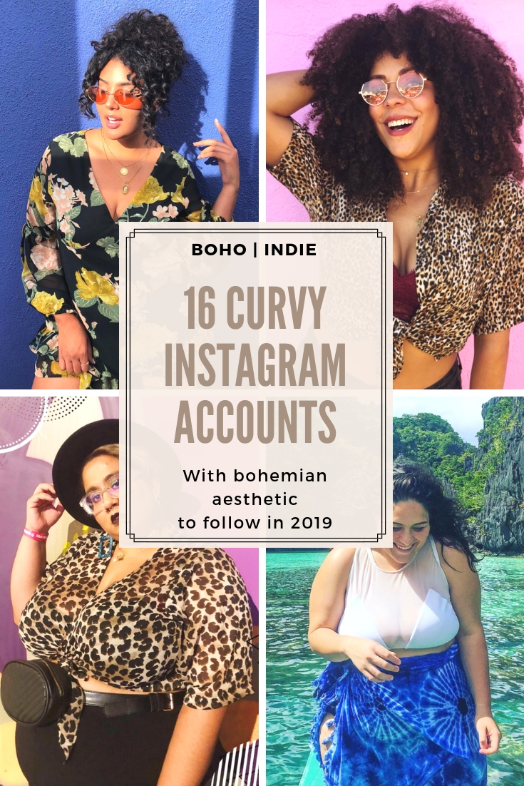be5a3da996 16 Curvy Boho Indie Accounts to Follow on Instagram in 2019 ...