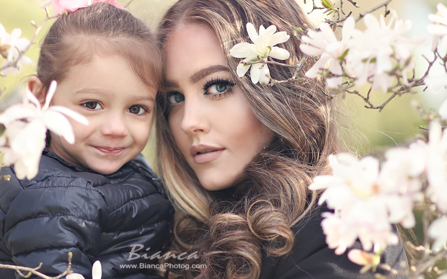 Stunning mother and daughter