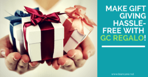 Make Gift Giving Hassle-Free with GC Regalo!