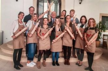 Giovanni Rana Pasta Pressereise Verona Gruppenbild