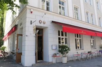 HeimWerk Schwabing Fast Slow Food Restaurant Außenansicht