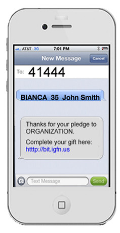 BIANCA's ARMY phone