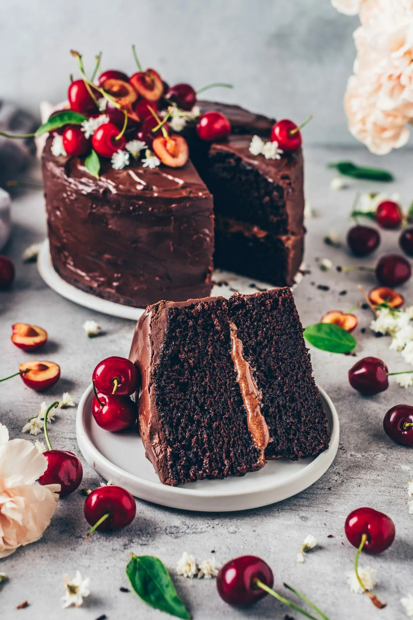 Best Vegan Chocolate Cake Easy Recipe Bianca Zapatka