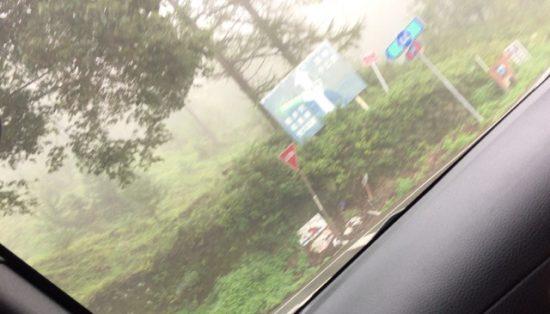 佐久高原内山牧場までの道のり画像