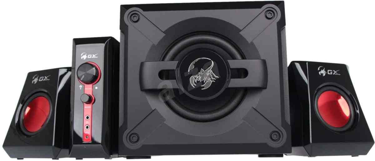 Image result for Genius SW-G2.1 1250 2.1 Speaker System