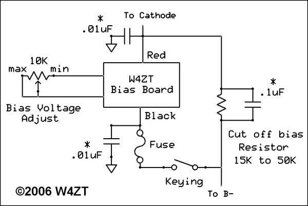Amplifier Bias Board 060923 Documentation
