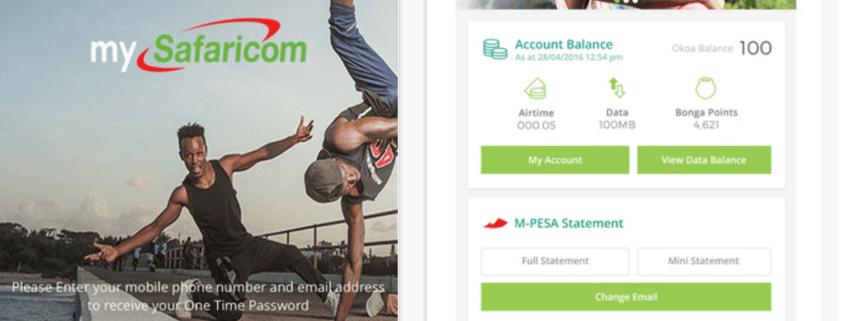 Safaricom launches MySafaricom Self Service App on Android and iOS.fw