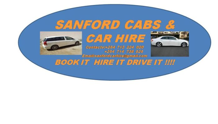 SANFORD CAR HIRE NEW LOGO