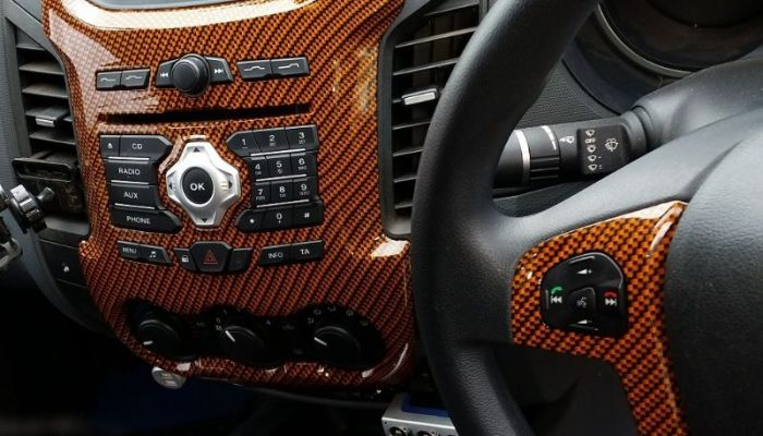 Incar Interior Design Dashboard Customization Service Nairobi