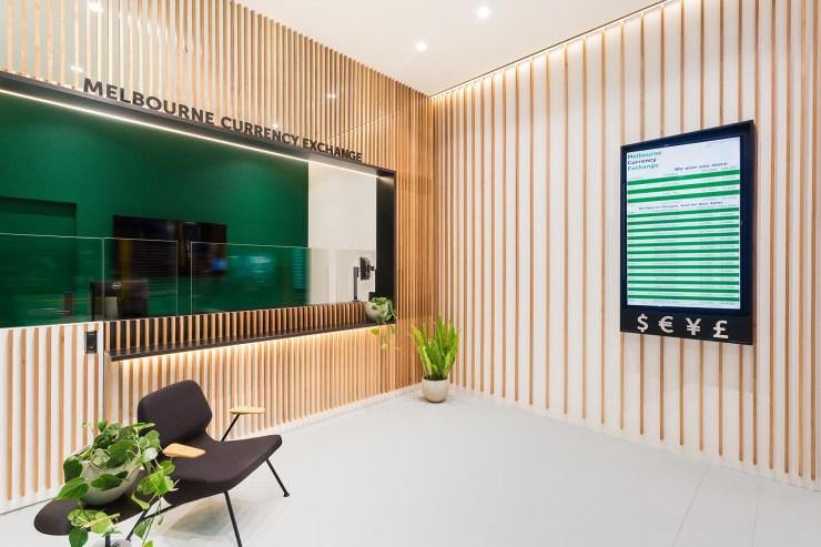 Melbourne Currency Exchange Biasol Interior Desig