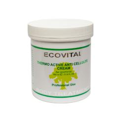 Ecovital Crema Termoactiva Anticelulitica 500 ml