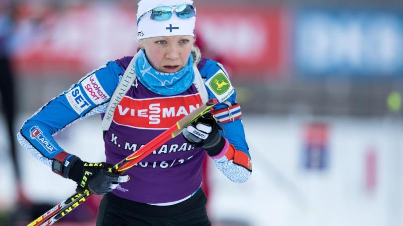 Kaisa Mäkäräinen - Sven Hoppe/dpa