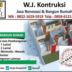 Renovasi Atap Baja Ringan Rumah Tipe 36 Gambar Minimalis Type 21 60 Di Bandung Wa