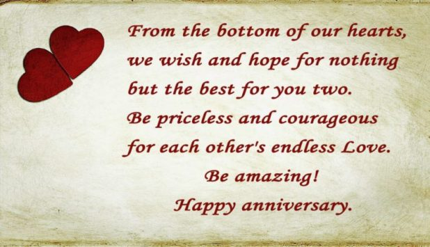 Happy Anniversary Messages for Mom and Dad