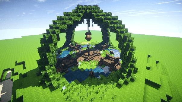 Cool Minecraft Garden Ideas