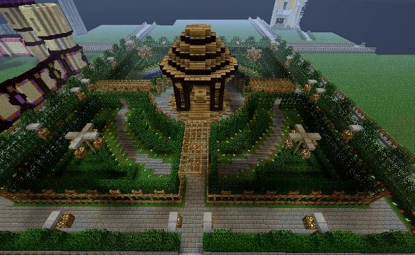 Cool Minecraft Garden Ideas | Minecraft Farm - Bib And Tuck