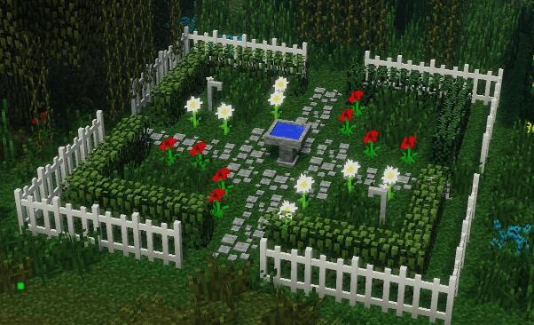 Cool Minecraft Garden Ideas Minecraft Farm Bib And Tuck
