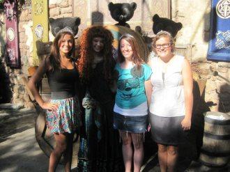 Merida, Brave, Magic Kingdom, Walt Disney World, Disney Princesses