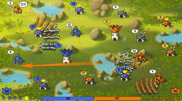 Mushroom Wars 2 Game