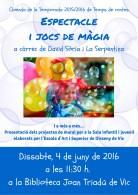 Espectacle i jocs de màgia