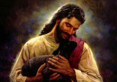 Den gode herden ger sitt liv för fåren.