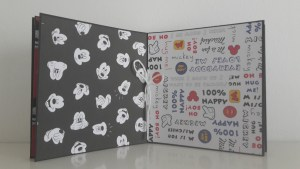 Scrapbooking Mickey Mouse Album_2