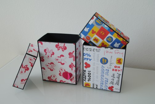 Scrapbooking Box Mickey Mouse_2