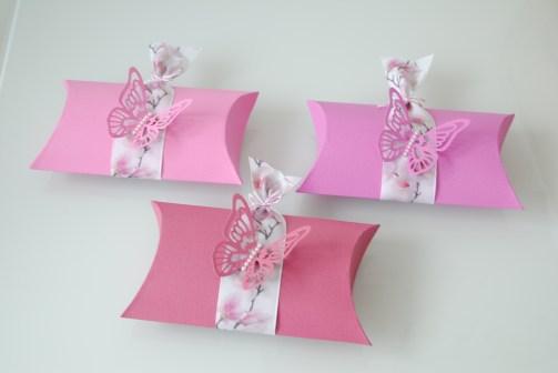 Scrapbooking Süßigkeitenverpackung pillowbox handgemacht_7