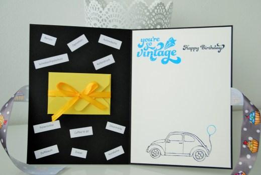 Glückwunschkarte BMW handgemacht_1