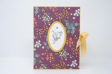 Geburtstagskarte Lady