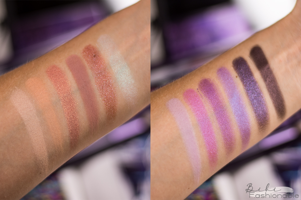 Urban Decay Naked Ultraviolet Swatches