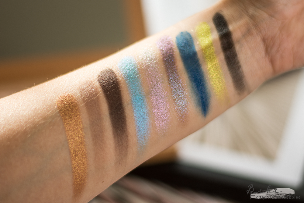 Catrice x Maxim Giacomo Pressed Pigment Palette Swatches Farben rechts