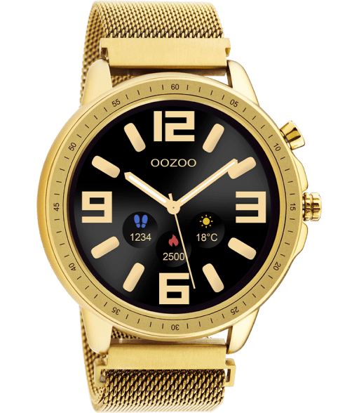 Oozoo_Smartwatches_Q_00306_Gold_gold-
