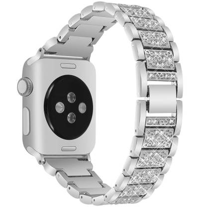 Bracelet Apple Watch Femme Sertie de Cristaux bibitech.net