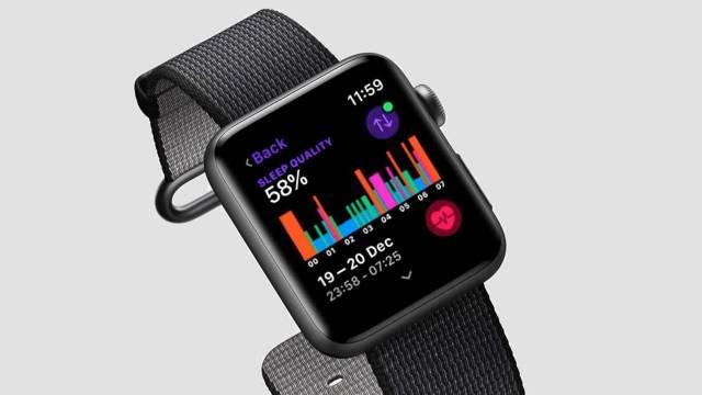 Suivi du sommeil chez Apple Watch Series 5