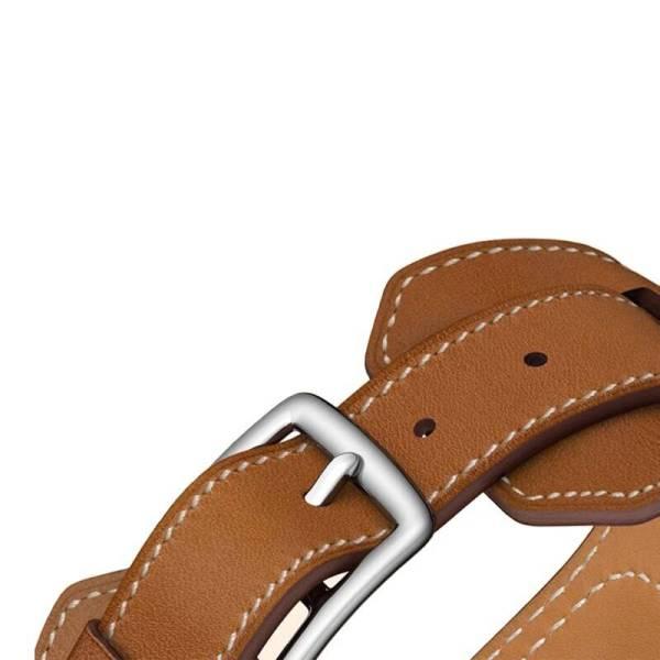 Bracelet cuir Apple Watch série 5/4/3/2/1 style équestre